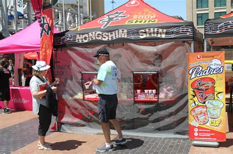 Padres Giveaways 2017 - san diego padres event nongshim usa