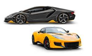 lamborghini and lotus for 2017 what s new feature car