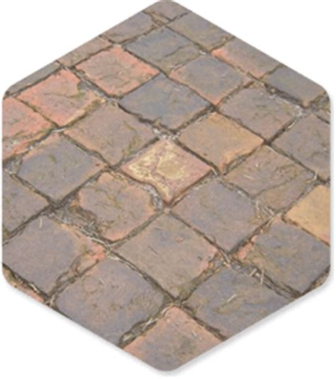 York Handmade Bricks - square pavers landscape paving garden york handmade