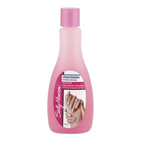 buy nail remover strengthening 150 ml by sally hansen priceline
