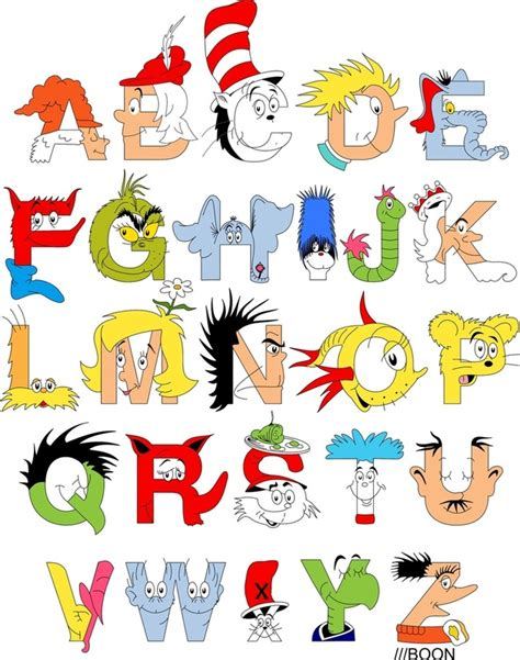 Character With Letter K Free Dr Seuss Read Across America Coloring Pages