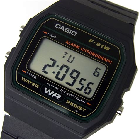Casio F 91w 3d 楽天市場 カシオ casio スタンダード メンズ デジタル 腕時計 チープカシオ チプカシ f 91w 3d