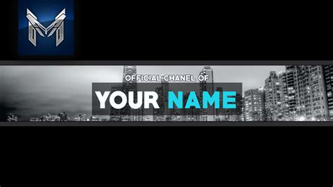 youtube free banner template city speed art