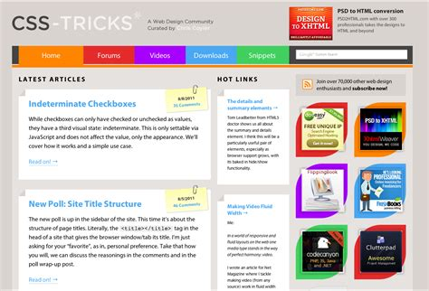 layout css tricks design history css tricks