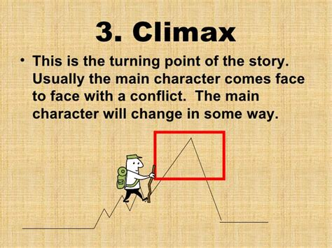 climax plot diagram elements of a plot diagram