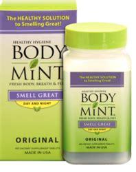 body mint usa introduces chemical  aluminum  odor