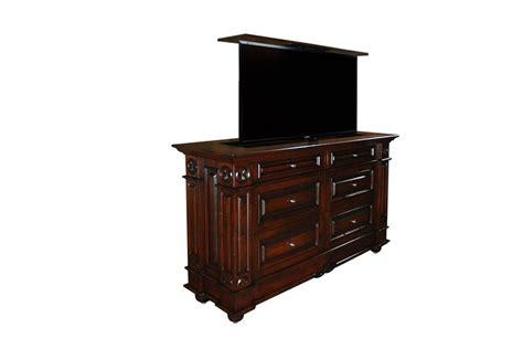 bedroom tv lift cabinet tv lift cabinet with dresser andaluz tv lift cabinet