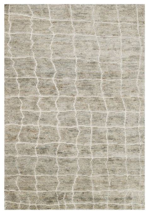 Industrial Area Rugs Robar Industrial Rustic Gray Birch Jute Wool Rug 4x6 Industrial Area Rugs By Kathy Kuo Home