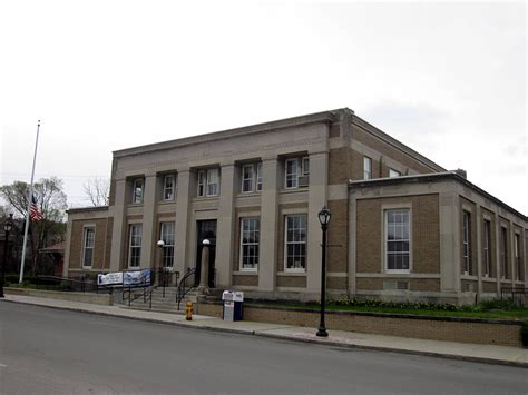 Olmsted Post Office by United States Post Office Wellsville New York