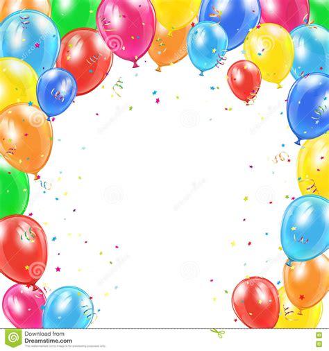 imagenes de cumpleaños con globos cap 237 tulo de los globos del cumplea 241 os en el fondo blanco
