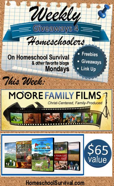 Giveaways And Freebies - weekly giveaways and freebies linkup moore family films