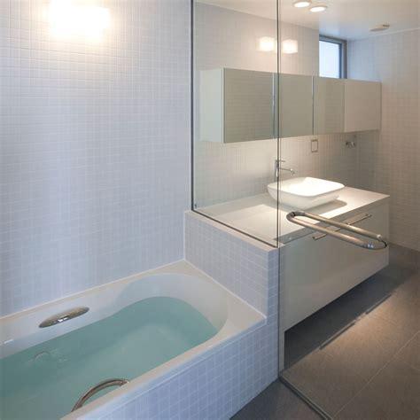 designboom bathroom atelier tekuto oh house