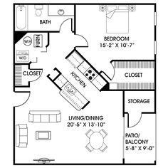 in law apartment floor plan planos ii pinterest 24 x 24 mother in law quarters plan with laundry room