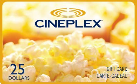 Free Gift Giveaways - free 25 cineplex gift card giveaway free stuff finder canada