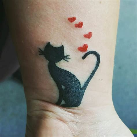 tattoo cat wrist 30 wrist tattoos designs ideas design trends