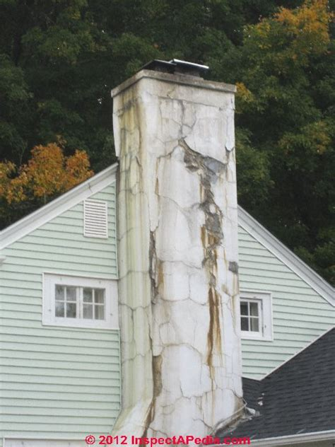 Fireplace Repair Cement by Cracked Concrete Block Chimneys Diagnosis Repair Guide