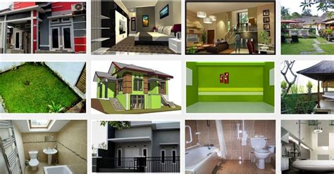 desain rumah sederhana pedesaan kung type 45 minimalis tapi mewah elegan denah gambar