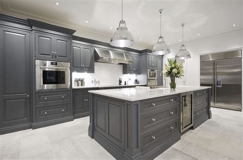 21st Century Kitchens And Cabinets Luxury Grey Kitchen Tom Howley
