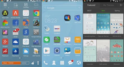 doodle launcher dodol launcher android review androidizen