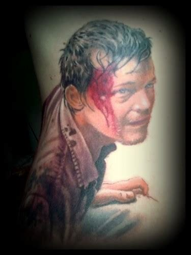 norman tattoo tatouage daryl walking dead