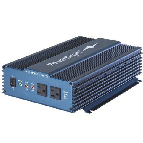 Power Inverter Dc To Ac Merk Mitsuyama With Usb 5v power bright 12 volt dc to ac 1000 sine inverter aps1000 12 the home depot