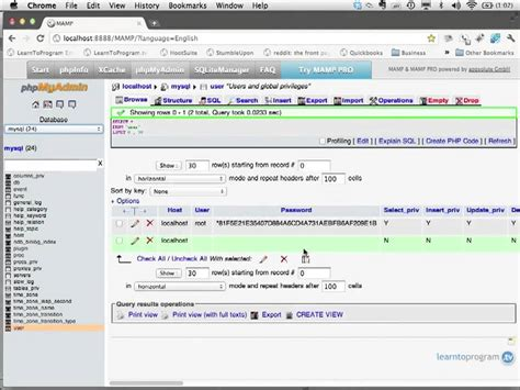 tutorial php query mysql how to retrive a query from the database server using php