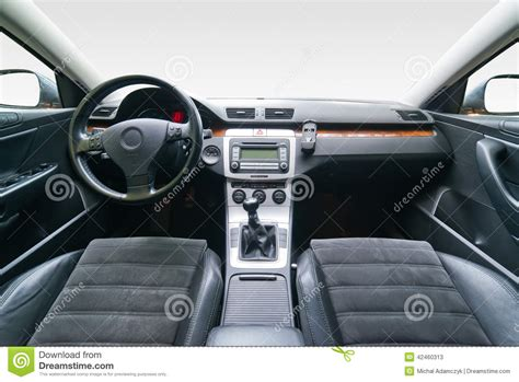 Luxury Car Upholstery by Interior Of Luxury Car Stock Photo Image 42460313