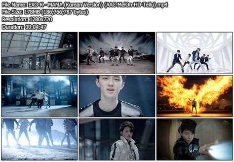 download mp3 exo mama chinese version download mv exo k mama korean version melon hd 720p