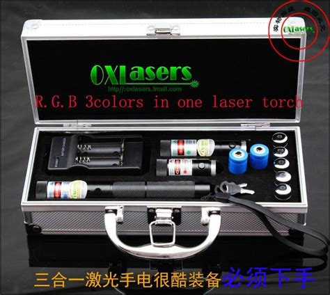 diode laser blue 1000mw oxlasers rgb301 1000mw blue 200mw 100mw green 3 in 1 burning laser