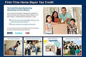should the 8000 time home buyer tax credit be extended