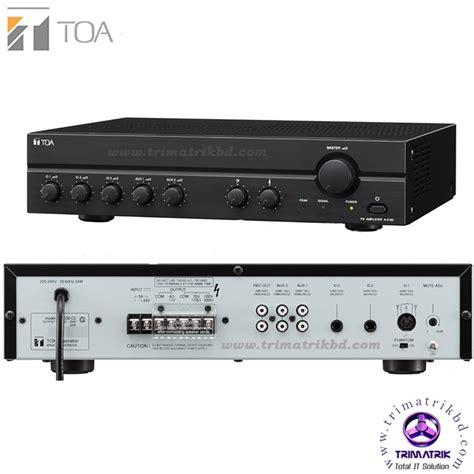Toa Box Speaker Zs F2000bm 60 Watt toa a 2060 bangladesh trimatrik 0185 3330355