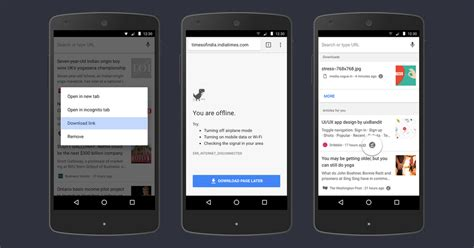 chrome updates for android chrome for android update makes it even easier to read web pages offline techgreatest