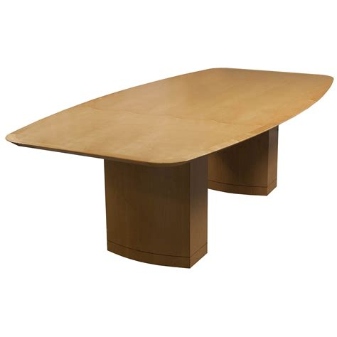 Maple Conference Table Wood Veneer 8ft Used Conference Table Maple National Office Interiors And Liquidators
