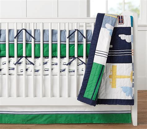 Pottery Barn Airplane Crib Bedding Airplane Baby Bedding Pottery Barn