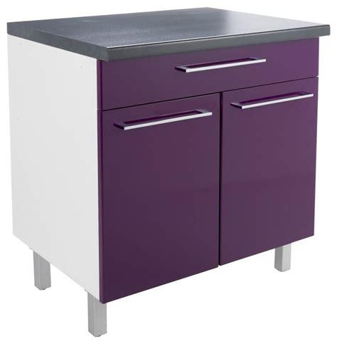 meubles cuisine ind駱endants buffet vita meuble de cuisine 2 portes 1 tiroir 80cm