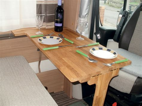 small folding table for rv how to a folding dinette table for your motorhome