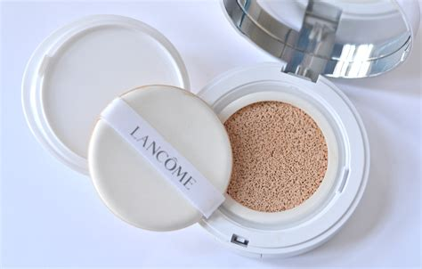 Lancome Cushion the new trend in makeup introducing lancome miracle