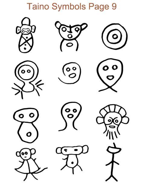 ancient taino symbols petroglyphs
