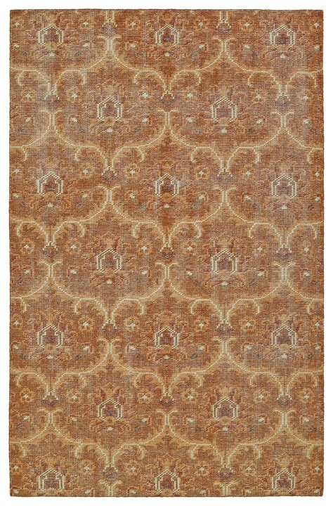 Area Rugs Ct Kaleen Relic Collection Rlc03 53 Paprika Area Rug Kaoud Rugs
