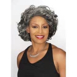 american hairstyles for grey hair gray wigs for black american