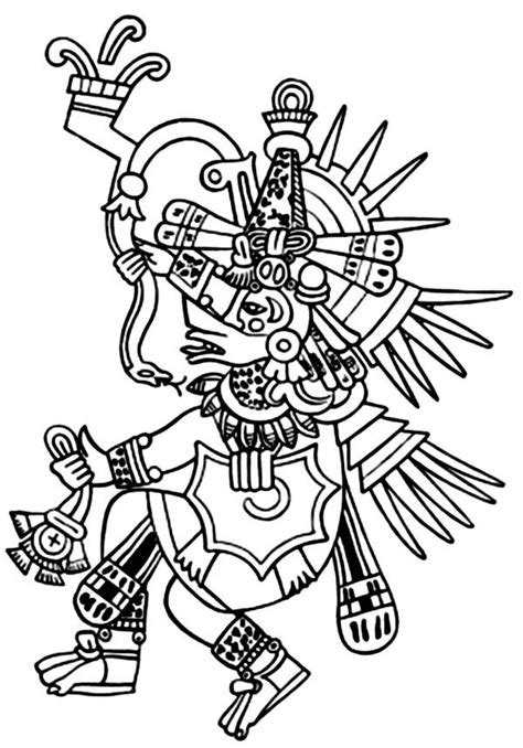 aztec coloring pages aztecs coloring pages coloring home