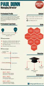 Infographic Resume Exles by Sles Infographic Resume