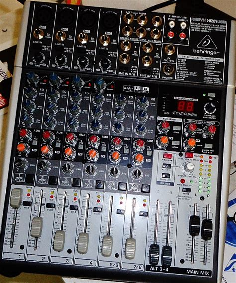 Mixer Behringer Xenyx 1204fx Behringer Xenyx 1204fx Image 1649476 Audiofanzine