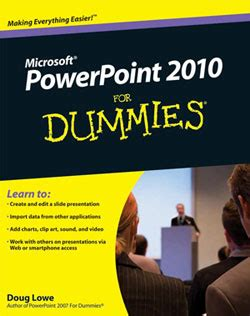 powerpoint for dummies powerpoint presentation