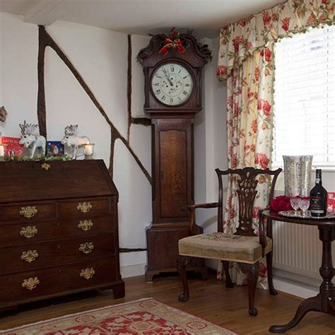 Livingroom Styles mahogany hallway with clock decorating housetohome co uk