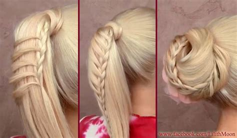 ponytail hairstyles for all lengths of hair tutorial 15 video hairstyle tutorials by lilith moon hairstyles