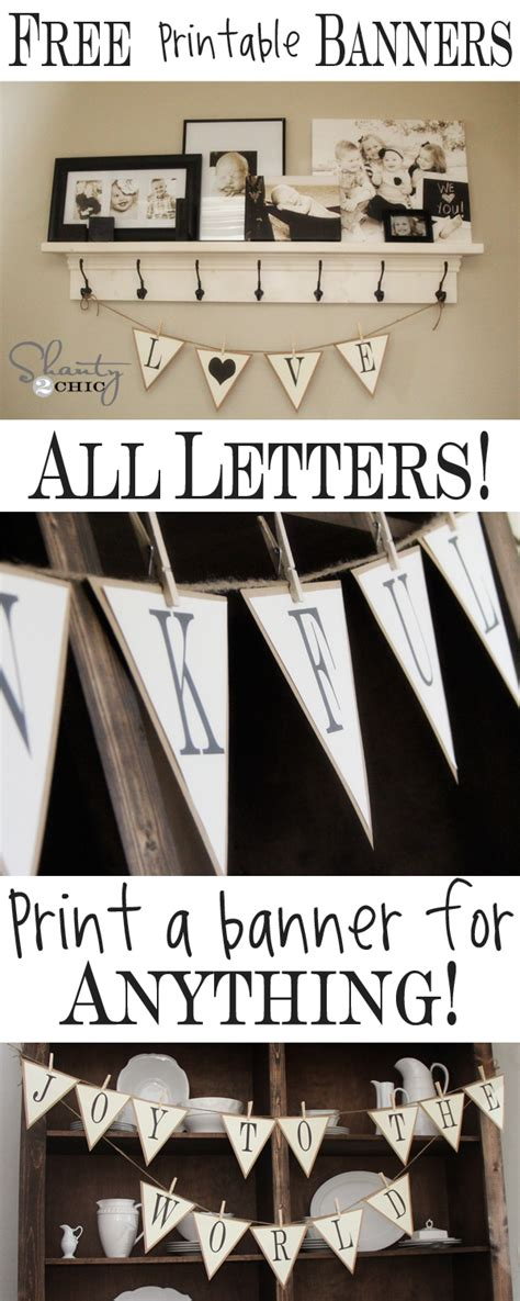 free printable whole alphabet banner free printable whole alphabet banner