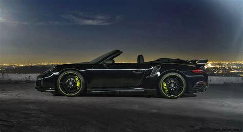 2017 black porsche 911 turbo techart debuts 2017 911 and 911 turbo pnp powerkits and