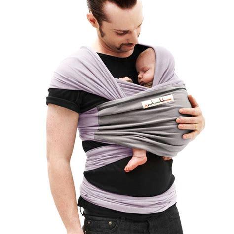 je porte mon bebe echarpe de portage lavande poche gris clair