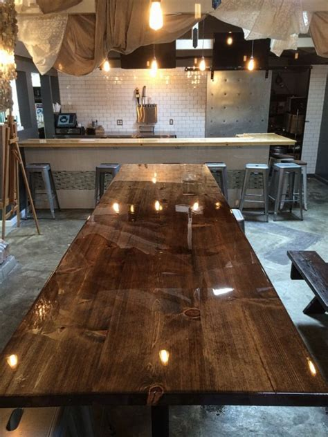 two part epoxy resin bar top the 25 best epoxy table top ideas on pinterest